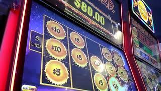 10 mins of MAX BET AUTUMN MOON $1 Denoms BONUSES Episode 195 $$ Casino Adventures $$