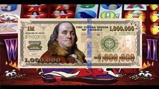 •Million Dollar Cashout •Vegas Elite High Roller Video Slot Machine Jackpot Handpay Aristocrat, WMS