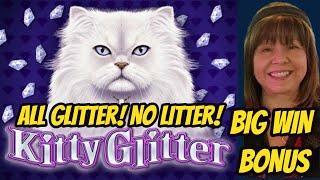 All Glitter no Litter! Max Bet-Big Win Kitty Glitter Bonus