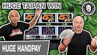 ★ Slots ★ HUGE TAIPAN WIN ★ Slots ★ 420 Slot Machine Action to Honor Tee Winn