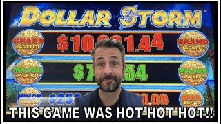 DOLLAR STORM WAS HOT FROM THE VERY FIRST SPIN! I WISH ALL SLOTS WERE LIKE THAT!