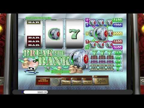 Free Break the Bank slot machine by Saucify gameplay ★ SlotsUp