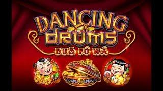 Dancing Drums - back to back bonus - BIG WINS - good recovery