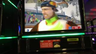 HUGE BONUS WIN ON SNOW STAR(MAX BET)