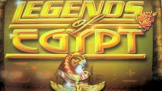 NEW SLOT MACHINE Legends of Egypt FIRST LOOK Las Vegas Slots Win