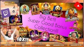 Big Bet!! Super Good Bonus Collection Including 12 Slot Bonuses!!