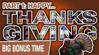⋆ Slots ⋆ Part 1: THANKSGIVING Memories! ⋆ Slots ⋆ Black Widow HANDPAY & Other High-Limit Slots