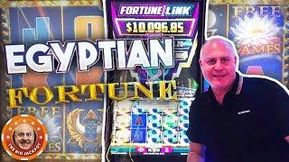 I •️ EGYPTIAN FORTUNE DOUBLE JACKPOTS! •Fortune Link Pays Out BIG!