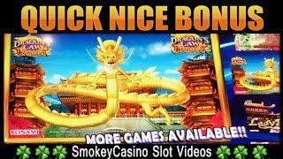 DRAGON'S LAW Hot Boost Slot Machine Tough Bonus • Konami