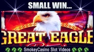 GREAT EAGLE Slot Machine Bonus Win- WMS