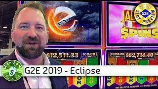 Eclipse Gaming, Jackpot Spins slot machine at 2019 G2E