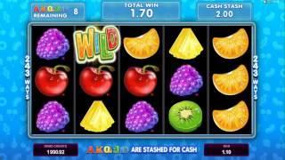 Fruit Vs Candy Microgaming Slot Big Win