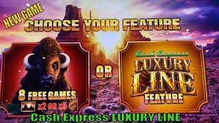 ⋆ Slots ⋆NEW GAME ! HOW ABOUT BUFFALO ?⋆ Slots ⋆CASH EXPRESS LUXURY LINE (BUFFALO) Slot⋆ Slots ⋆$125