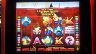 Jaws Slot Free Spin Bonus - Aristocrat