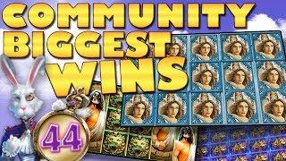 CasinoGrounds Community Biggest Wins #44
