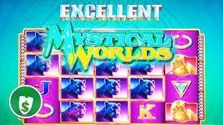Mystical Worlds 95% payback slot machine, nice bonus