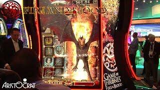 Game of Thrones: Fire & Blood Slot Machine from Aristocrat