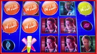** BIG WIN ** Jurassic Park n others ** SLOT LOVER **