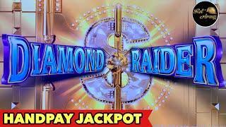 •HANDPAY JACKPOT•KONAMI DIAMOND RAIDER NEVER THOUGHT OF GETTING JACKPOT FROM THIS SLOT MACHINES