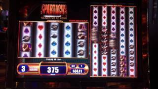 Spartacus Gladiator of Rome Slot Free Spin Bonus Game