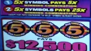 Bellagio $12.5K Jackpot on 10X10X10X ~Oct 2014