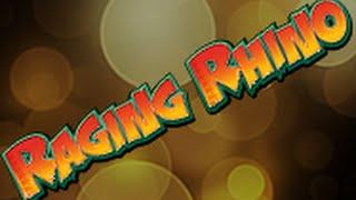 RAGING RHINO ***BIGGEST WIN ON YOU TUBE!!*** (A FRIEND HAS WON THIS) DREAM RECORD HIT!!