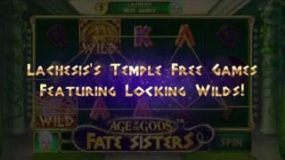 Age of The Gods• Fate Sisters Slot - Playtech