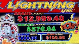 • ALL I CAN SAY IS WOW!!! • LIVE PLAY • HAPPY LANTERN LIGHTNING • LINK • SLOT MACHINE •