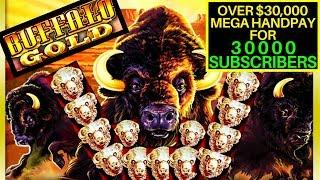 •️ BUFFALO GOLD MASSIVE HANDPAY JACKPOT OVER $30K •️$90 MAX BET SPINS ONLY •️30K SUBSCRIBERS SPECIAL