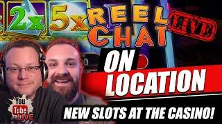 ⋆ Slots ⋆ REEL CHAT LIVE AT THE CASINO ⋆ Slots ⋆ ON LOCATION / WITH SPECIAL GUEST LIVE IN VEGAS!