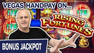 ⋆ Slots ⋆ Rising Fortunes HANDPAY in LAS VEGAS ⋆ Slots ⋆ $44 Spins at The Cosmopolitan on the VEGAS