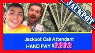 FIRST SPIN JACKPOT! BIG WINS! HIGH LIMIT Lucky Lemmings Slot Machine BONUSES With SDGuy1234