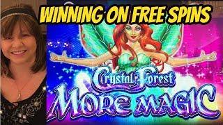 RETURN TO CRYSTAL FOREST FREE SPIN BONUSES