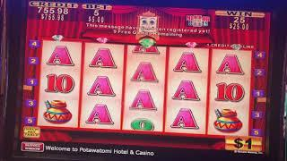 I •️ THE ATM @ MY CASINO - BIG High Limit Bonus WIN on KONAMI $5 Machine w/ SIZZLING SLOT JACKPOTS
