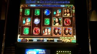 Double DaVinci Diamonds Slot Bonus - IGT