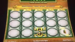 Green Machine - LIve Play - FREE SPINS GALORE! GoBigOrGoHome