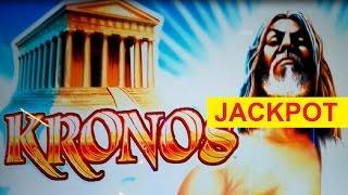 JACKPOT HANDPAY! Kronos Slot - $45 Max Bet - Progressive Betting!