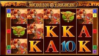 539x Win on Roman Legion Slot - Merkur Gaming