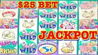 • JACKPOT HANDPAY • STINKIN RICH • $25 BET BONUS • 12 DAYS OF JACKPOTS • 10TH DAY OF XMAS •