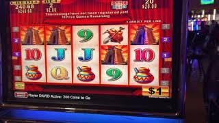 4 SYMBOL Slot Machine BONUS TRIGGER after our LIVE from the CASINO - JACKPOT HAND PAY or BUST?