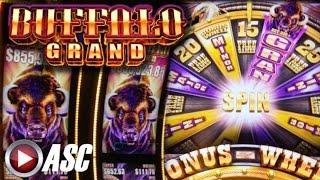 *NEW* BUFFALO GRAND | Aristocrat - Nice Win! Slot Machine Bonus