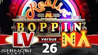 Las Vegas vs Native American Casinos Episode 26: Reelin n Boppin Slot Machine