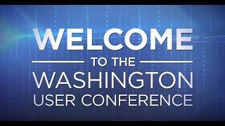 2019 Washington User Conference