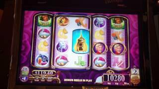 Willy Wonka Slot Machine Bonus - Grandpa Free Spins