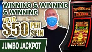 ⋆ Slots ⋆ Up to $50 PER SPIN ⋆ Slots ⋆ Winning & Winning & Winning on SLOT MACHINES