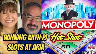 WINNING WITH PJ SLOTS AT ARIA PART ONE