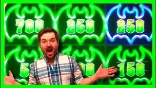 My FIRST Time Playing LOCK IT LINK Cats, Hats & More Bats Was AWESOME! BIG WINNING on Slots