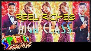 Spin It Grand • Reel Riches High Class • The Slot Cats •