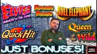 Just Bonuses! Slot Machine Bonuses! Big Wins With SDGuy1234