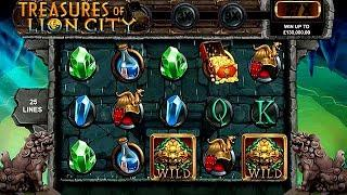 Treasures of Lion City Online Slot from Microgaming